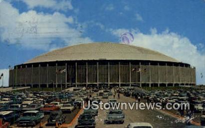 The Astrodome - Houston, Texas TX Postcard