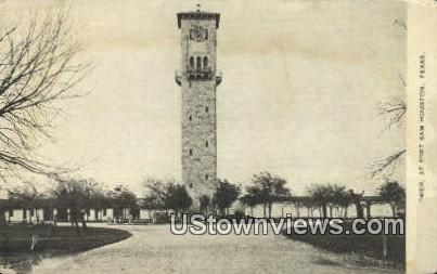 Tower - Fort Sam Houston, Texas TX Postcard