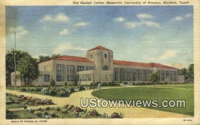 University of Houston - Texas TX Postcard