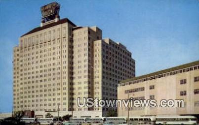 Shamrock Hilton Hotel - Houston, Texas TX Postcard