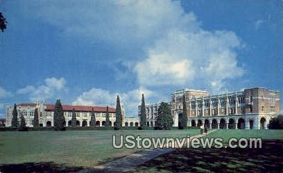 Rice Institute Campus - Houston, Texas TX Postcard