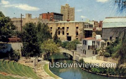 Arneson River Theater - San Antonio, Texas TX Postcard