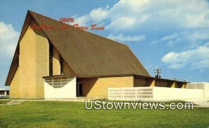 Chapel, Lackland Air Force Base - San Antonio, Texas TX Postcard
