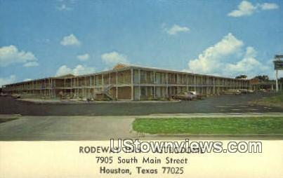 Rodeway Inn - Houston, Texas TX Postcard