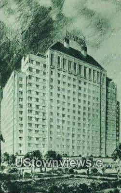 The Shamrock - Houston, Texas TX Postcard
