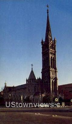 Annunciation Church - Houston, Texas TX Postcard