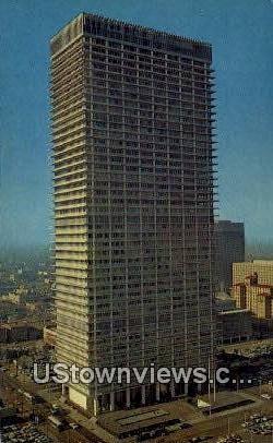 Humble Bldg - Houston, Texas TX Postcard