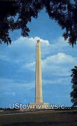 San Jacinto Museum & Monument - Houston, Texas TX Postcard