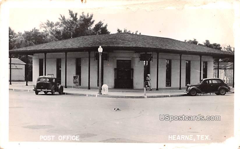 Post Office - Hearne, Texas TX Postcard