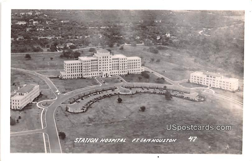 Station Hospital - Houston, Texas TX Postcard