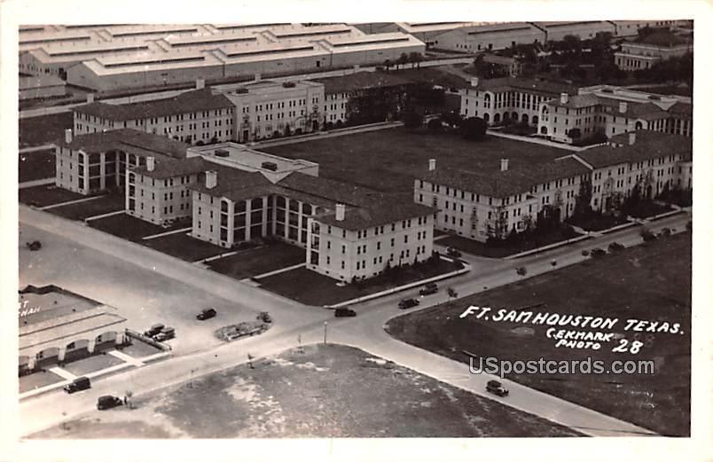 Fort Sam - Houston, Texas TX Postcard