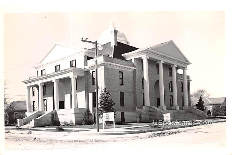 First Christian Church - Hereford, Texas TX Postcard