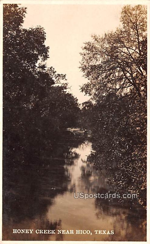 Honey Creek - Hico, Texas TX Postcard