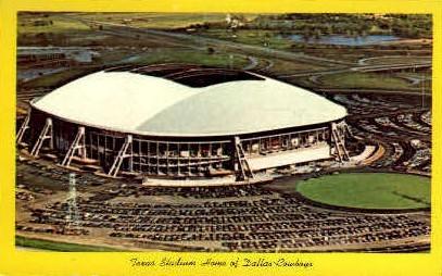 Texas Stadium - Irving Postcard