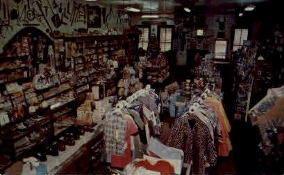 T. C. Lindsey General Store  - Jonesville, Texas TX Postcard