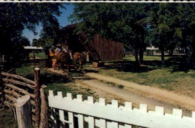 Lyndon B. Johnson's Boyhood Home - Johnson City, Texas TX Postcard