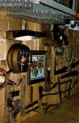 Boondocks Restaurant - Jefferson County, Texas TX Postcard