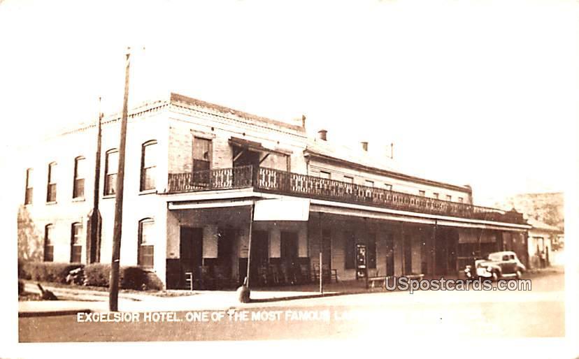 Excelsior Hotel - Jefferson, Texas TX Postcard