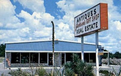 Jackson Gift Shop - Kerrville, Texas TX Postcard
