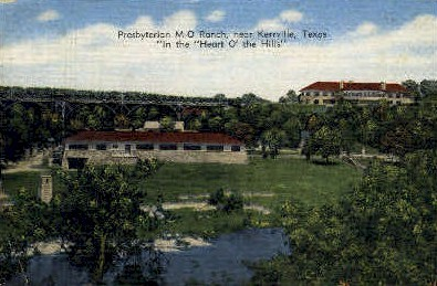 Presbytarian Ranch - Kerrville, Texas TX Postcard