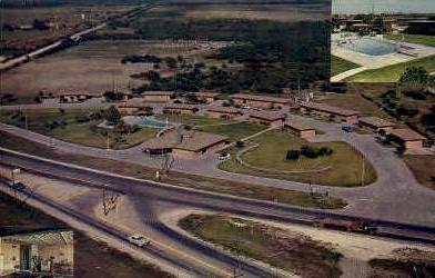 Sage Motel - Kingsville, Texas TX Postcard