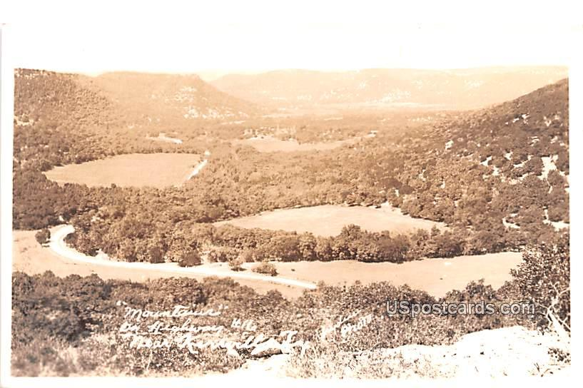 Mountains - Kerrville, Texas TX Postcard