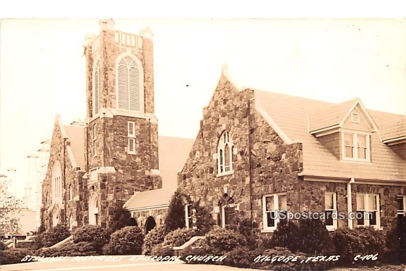 St Lukes Methodist Episcopal Church - Kilgore, Texas TX Postcard