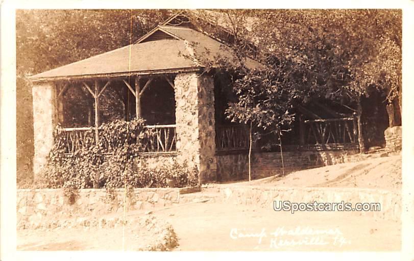 Camp Waldemak - Kerrville, Texas TX Postcard