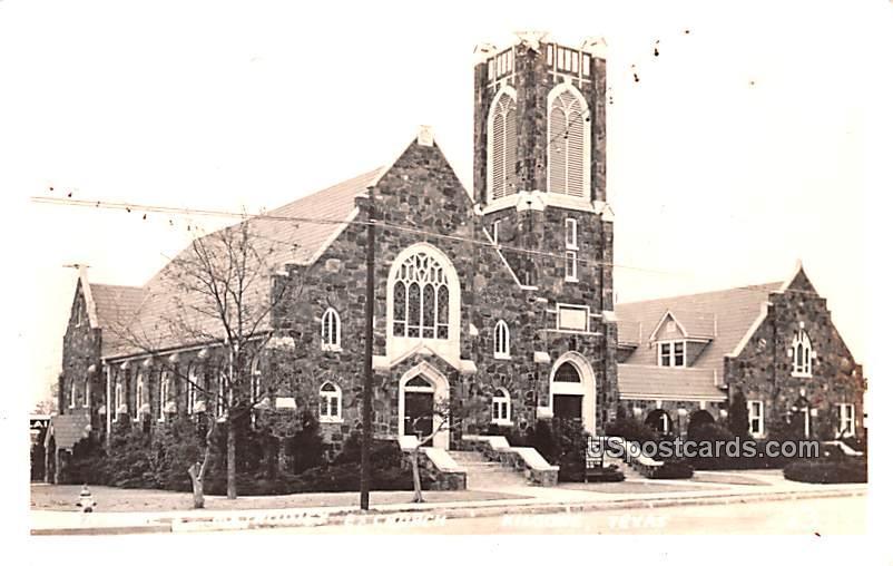 Church - Kilgore, Texas TX Postcard