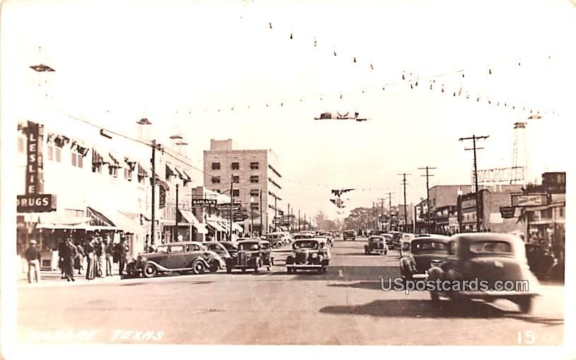 Street Scene - Kilgore, Texas TX Postcard