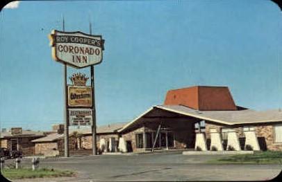 Coronodo Inn - Lubbock, Texas TX Postcard