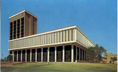 Business Administration Building - Lubbock, Texas TX Postcard