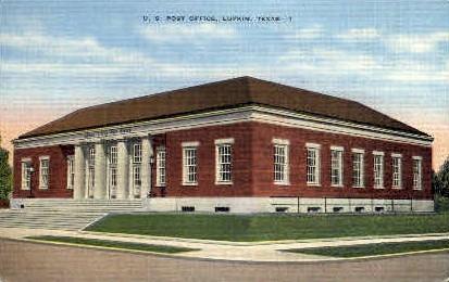 U. S. Post Office - Lufkin, Texas TX Postcard