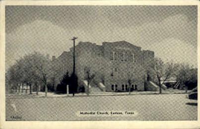 Methodist Church - Lamesa, Texas TX Postcard
