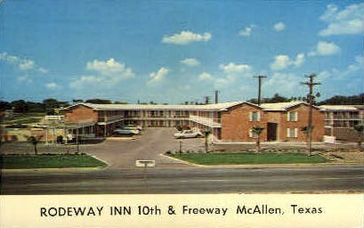 Rodeway Inn - McAllen, Texas TX Postcard