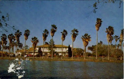 Home Of the Texas Governer - McAllen Postcard