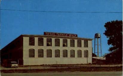 Textile Mill - McKinney, Texas TX Postcard
