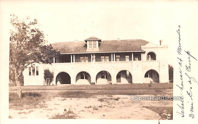 School House - Mercedes, Texas TX Postcard