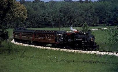 Texas State Railroad's - Misc Postcard