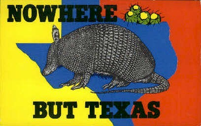 Nowhere But Texas - Misc Postcard