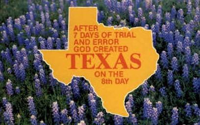 Texas - Misc Postcard