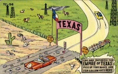 Empire Of Texas  - Misc Postcard