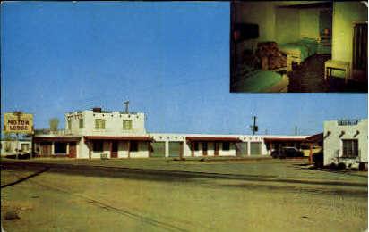 Silver Saddle Motor Lodge  - Misc, Texas TX Postcard