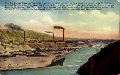 The Rio Grande - Rio Grande Valley, Texas TX Postcard