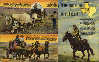 The Lone Star state - Misc, Texas TX Postcard