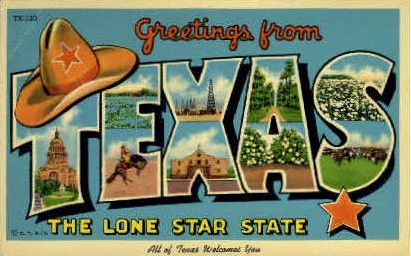 All Of Texas Welcomes You - Misc Postcard