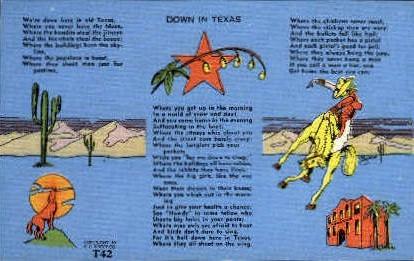 Misc, Texas Postcard