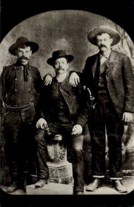 Marshals with Prisoner Sam Bass - Misc, Texas TX Postcard
