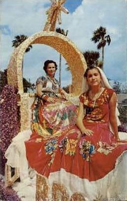 Latin America Costumes - Misc, Texas TX Postcard