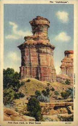 The Lighthouse - Misc, Texas TX Postcard